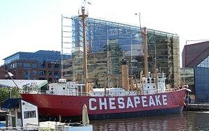 United States lightship Chesapeake (LV-116) - Image: Lightship Chesapeake