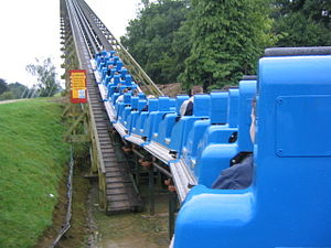 The Ultimate (roller coaster) - Image: Lightwater Valley Ultimate