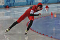 Lillehammer 2016 - Speed skating Men's 500m race 1 - Hanyang Shen.jpg