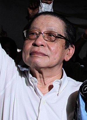 Malaysian general election, 2004 - Image: Lim Kit Siang cropped