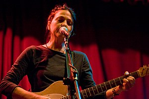 Lisa Germano - Lisa Germano performing, December 2007