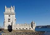 Lisbon Torre de Belém BW 2018-10-03 16-35-08.jpg