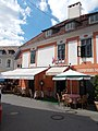 Listed Szenátor house. - 11 Dobó Square, Eger, 2016 Hungary.jpg