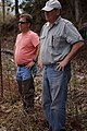 Listening to a discussion on bog management (7067587327).jpg
