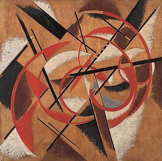 State Museum of Contemporary Art - Image: Liubov Popova, Spatial Force Construction, 1920 21