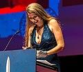 Liz Gorinsky, Hugo Awards Ceremony, Worldcon, Helsinki (cropped).jpg
