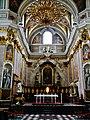 Ljubljana Kathedrale St. Nikolaus Innen Chor 2.JPG
