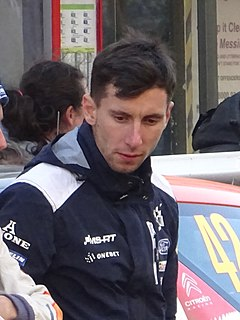 Eric Camilli French rally driver