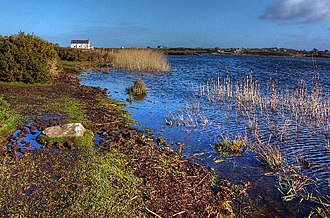 Rhosneigr - Llyn Maelog – Site of Special Scientific Interest and holder of village green status