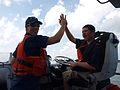 Local Newburyport boy rides aboard Coast Guard vessel 120805-G-MJ422-003.jpg