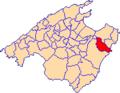 Localització de Sant Llorenç des Cardassar.png