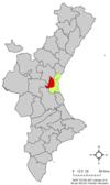 Localització de l'Horta Oest respecte del País Valencià.png