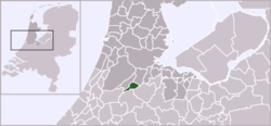 Location of Uithoorn