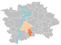 Location map municipal district Prague - Kunratice.PNG