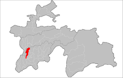 Location of Khuroson District in Tajikistan.png