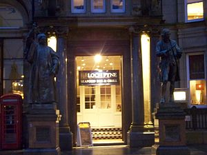 Loch Fyne Restaurants - The Loch Fyne restaurant on City Square in Leeds, West Yorkshire.
