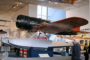 Lockheed 8 Sirius 'Tingmissartoq' at the National Air and Space Museum, Washington DC.jpg