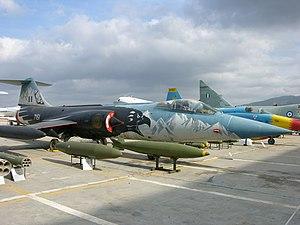 Lockheed F-104G Starfighter Hellenic Air Museum, Tatoi-Dekelia 2.jpg