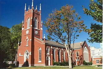 William Thomas (architect) - Image: London Ontario Church 2