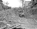 Looking east on Cherry St from 4th Ave showing regrade work, Seattle, Washington, February 1911 (LEE 10).jpeg