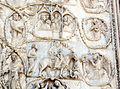 Lorenzo maitani e aiuti, scene bibliche 3 (1320-30) 09 fuga in egitto, cristo tra i dottori.JPG