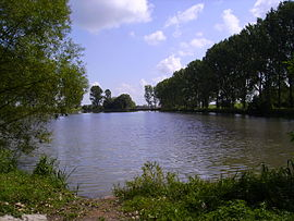 The lake of La Tensch
