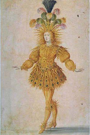 アポロ(太陽)に扮したルイ14世