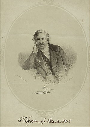Louis Daguerre - An engraving of Daguerre during his career