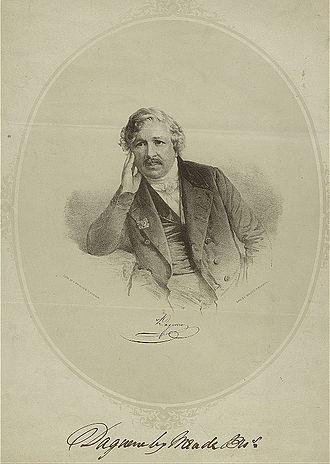 Louis Daguerre - An engraving of Daguerre during his career