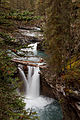 Lower Falls @ Johnston Canyon (15563504722).jpg