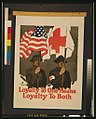 Loyalty to one means loyalty to both - Gordon Grant. LCCN00652149.jpg