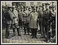 Lt. Gen. Pershing (Chief of American Expeditionary Force) on the quay after land, Bestanddeelnr 158-0952.jpg