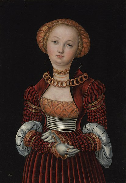 File:Lucas Cranach d.Ä. - Bildnis einer Frau (National Gallery London).jpg