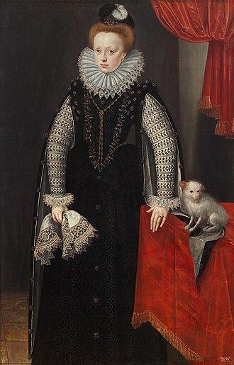 Sibylle of Jülich-Cleves-Berg - Image: Lucas van Valckenborch Duchess Sibylle von Jülich Cleve Berg