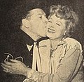 Lucille Ball looked so happy, Milton Berle had to kiss her, 1960.jpg