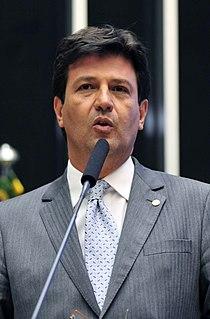 Luiz Henrique Mandetta Brazilian orthopedist, politician