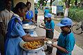 Lunch - Summer Camp - Nisana Foundation - Sibpur BE College Model High School - Howrah 2013-06-08 9291.JPG