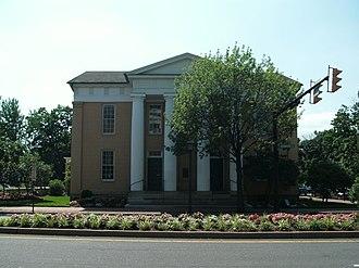 Lyceum (Alexandria, Virginia) - The Lyceum, seen from across Washington Street