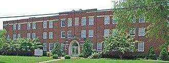 Meharry Medical College School of Dentistry - Image: Lyttle Hall Meharry Nashville