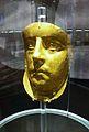 Màscara d'or procedent de la necropolis de Panticapea (Kertx), regne del Bòsfor, segle III dC.JPG