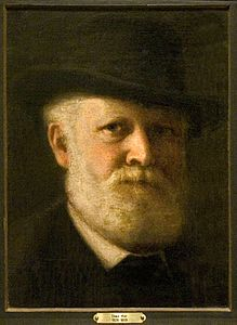 Mór Than (1828–1899) selfportrait Hungarian painter - private collection.jpg
