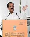 M. Venkaiah Naidu addressing at the inauguration of the Social Infrastructure (Local shopping complex, Banquet Hall, Senior Secondary School) under East Kidwai Nagar Redevelopment Project, in New Delhi.jpg