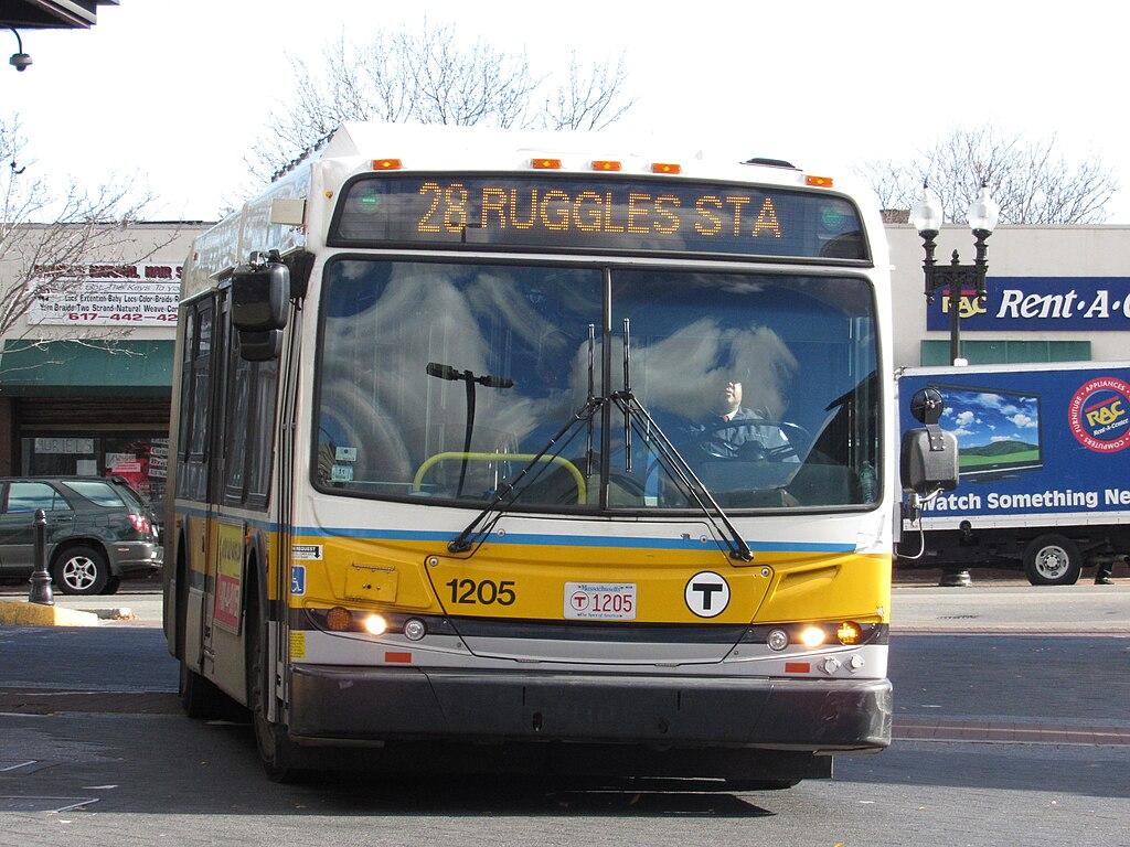 File Mbta Route 28 Bus At Dudley Street Terminal November