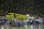 MC-21 on the assembly line at Irkut.jpg