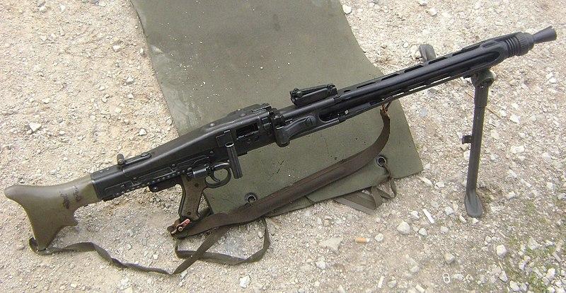 Австрийский пулемет MG-74.