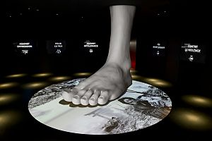 International Red Cross and Red Crescent Museum - Dignity trampled underfoot