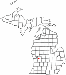 Location of Plainfield Township, Michigan