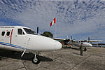 MINISTRO VALAKIVI ENTREGÓ MODERNA FLOTA DE 12 AERONAVES CANADIENSES TWIN OTTER DHC-6 SERIE 400 A LA FUERZA AÉREA DEL PERÚ (19405100889).jpg