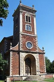The church at Willen, Milton Keynes.