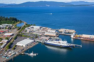 MV Columbia - M/V Columbia at Bellingham Cruise Terminal